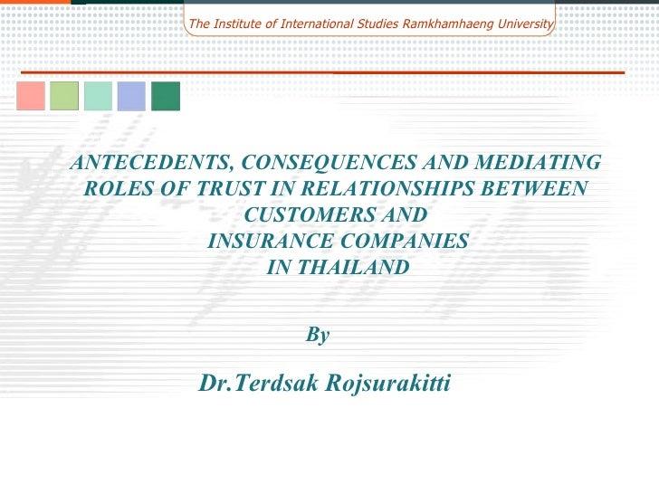 Trust In Insurance Company