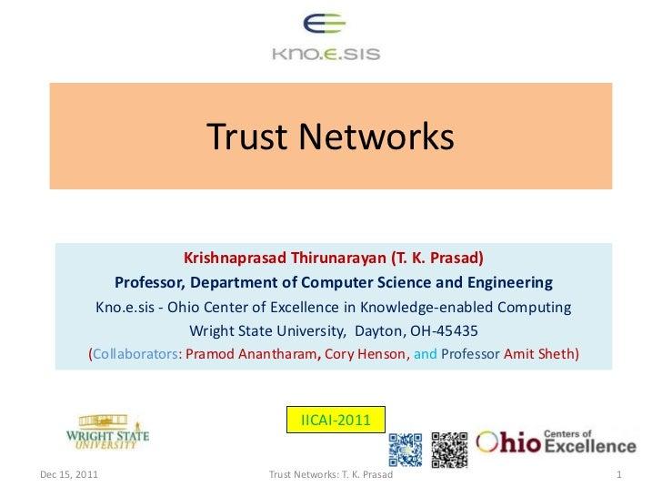 Trust networks tutorial-iicai-12-15-2011