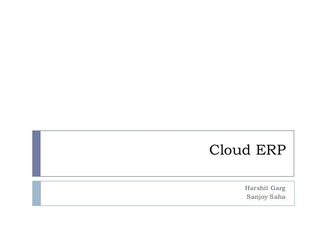 Trust, security and privacy issues with cloud erp