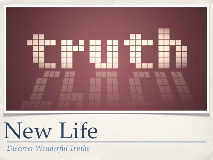 DWT - Lesson 5 #truth