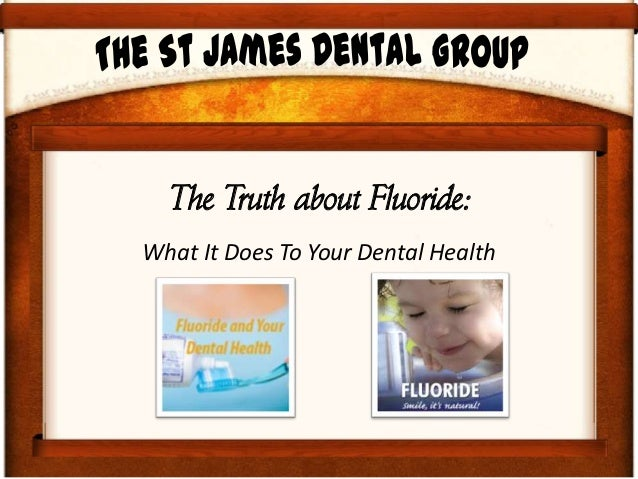 What you need to know about fluoride,