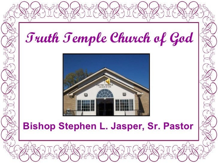 Truth temple slide show 3.1.11