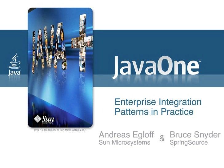 TS 4839 - Enterprise Integration Patterns in Practice