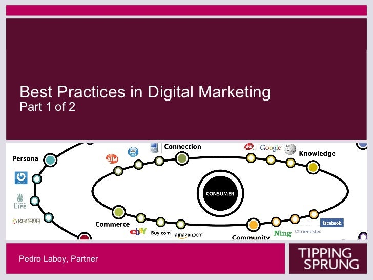 Best Practices In Digital Marketing and User Experience - 1 of 2