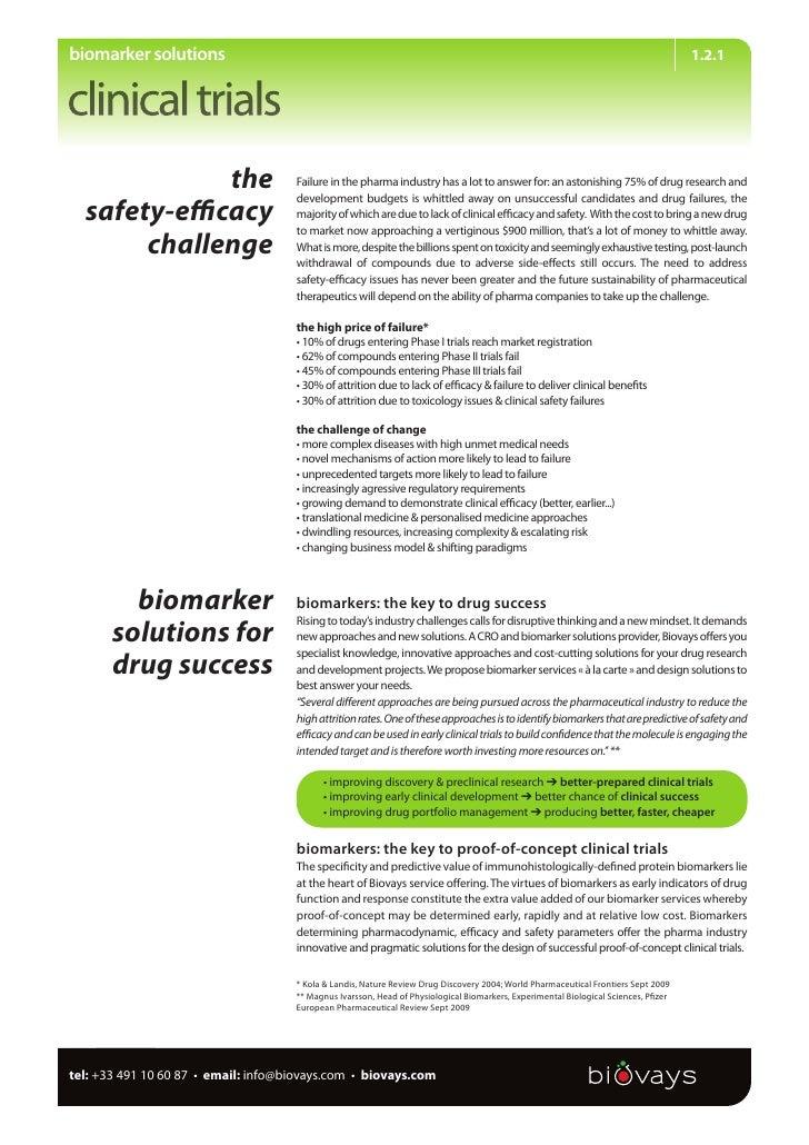 biomarker solutions                                                                                                       ...