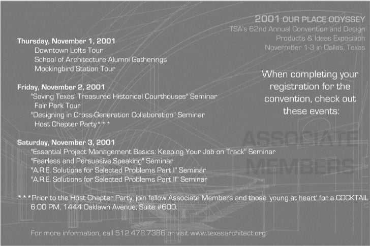 Texas Society of Architects Intern e-card 3