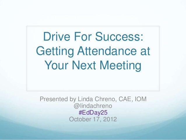 Tsae conf attendance presentation 201210