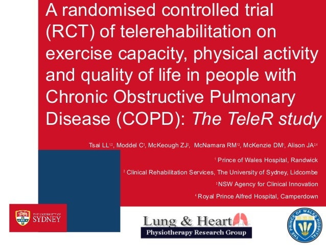 A randomised controlled trial (RCT) of telerehabilitation on exercise capacity, physical activity and quality of life in p...