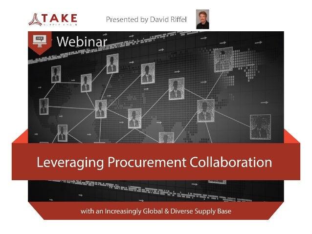 Leveraging Procurement Collaboration