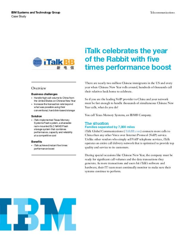 iTalk celebrates the year of the Rabbit with five times performance boost