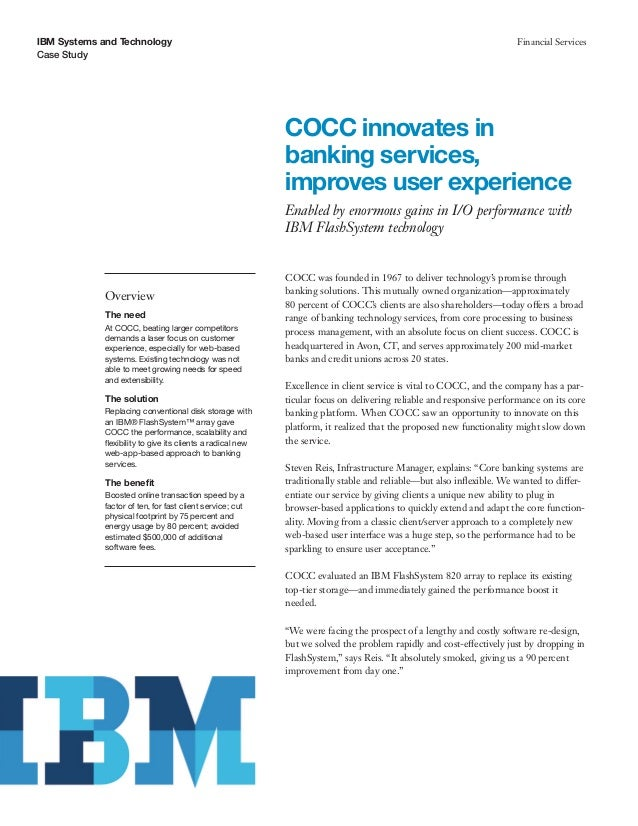 COCC innovates in banking services, improves user experience