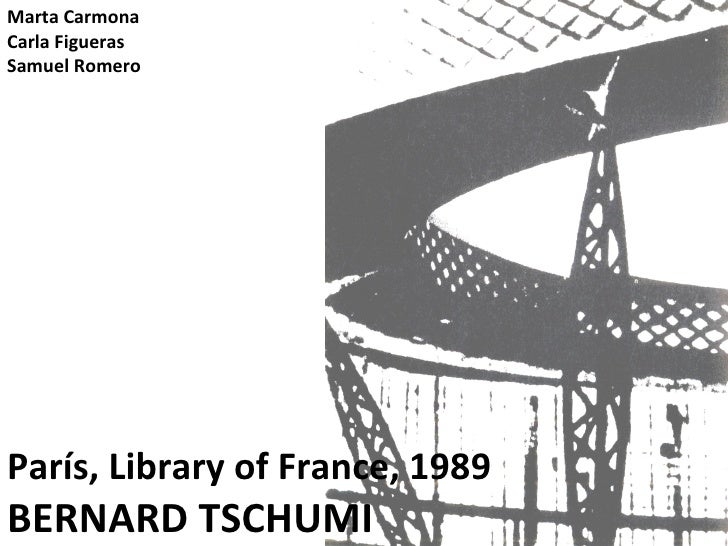 Tschumi, national library