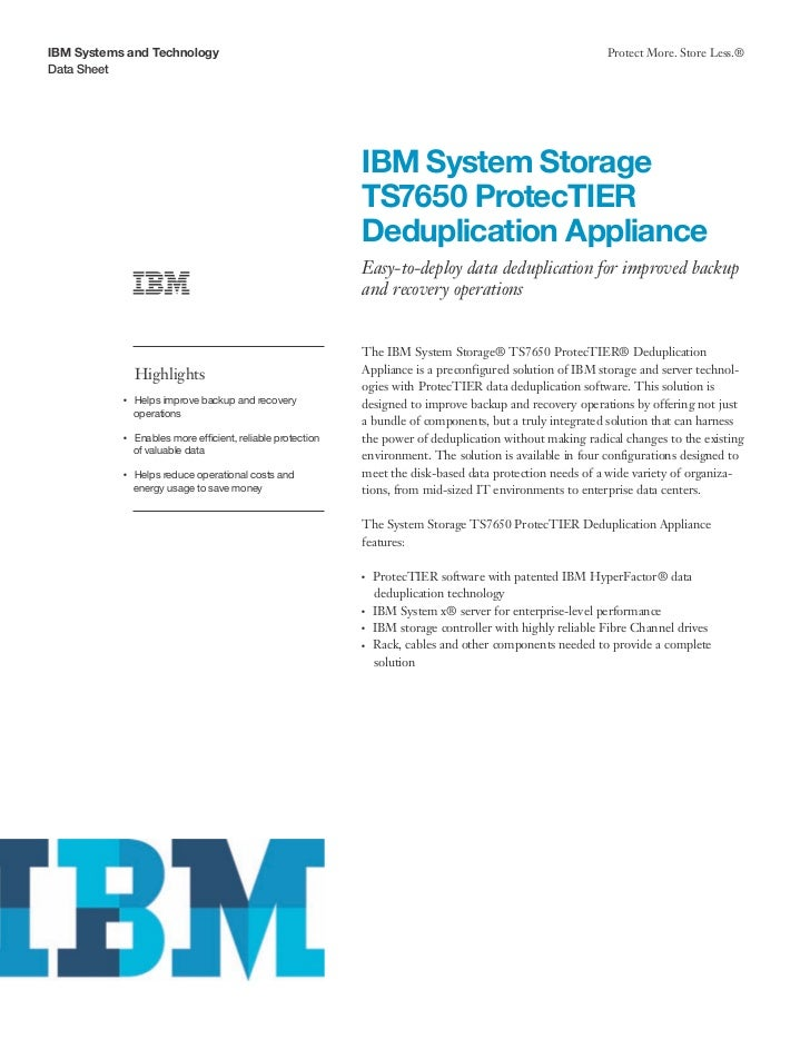 IBM Systems and Technology                                                                                       Protect M...