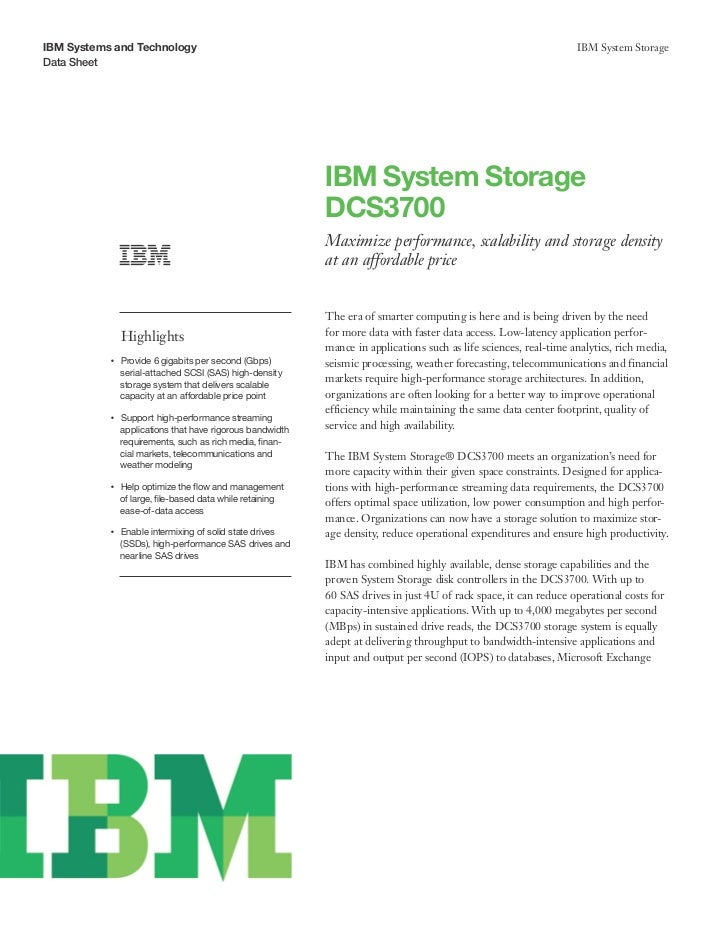 IBM Systems and Technology                                                                                             IBM...