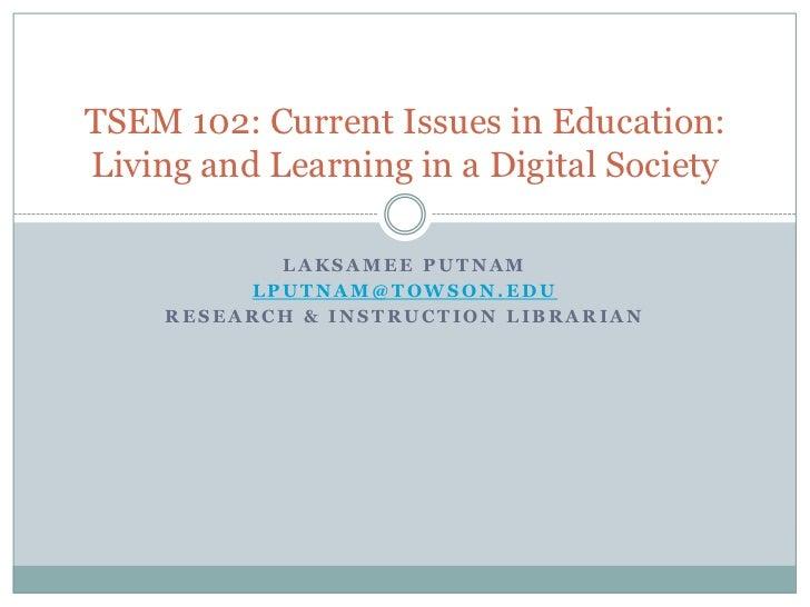 TSEM 102 Sp 2012