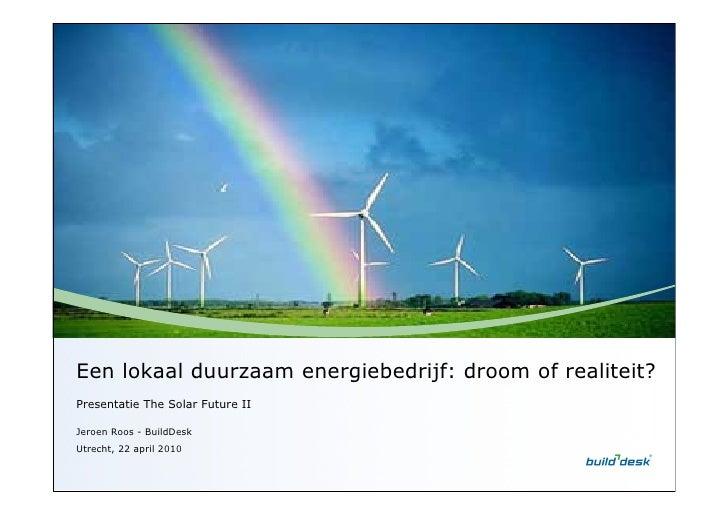 The Solar Future II - Jeroen Roos