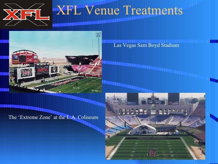 XFL venues news