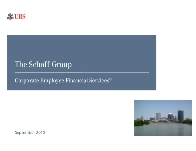 The Schoff Group - Corporate & Institutional Services