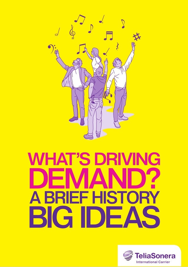 The Big ideas that are driving bandwidth