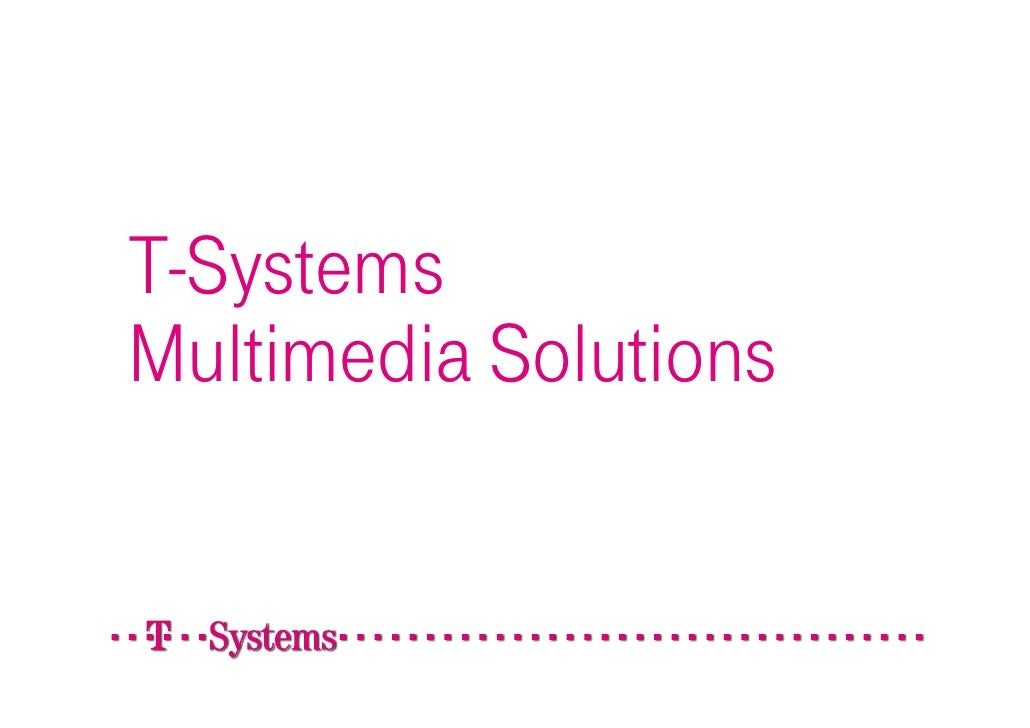 T-Systems Multimedia Solutions - The ultimate internet agency.