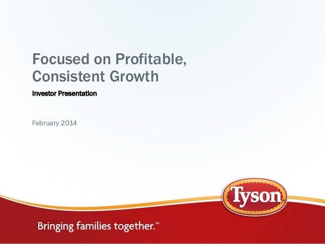 Tsn investor presentation feb 2014
