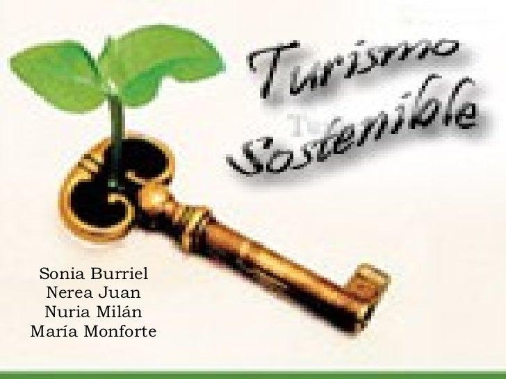 Sonia Burriel Nerea Juan Nuria Milán María Monforte