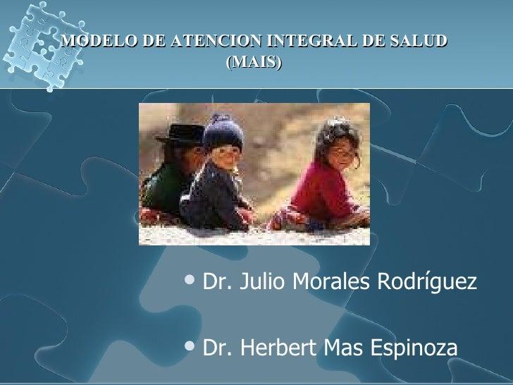 Tsp06   modelo de atención integral de salud