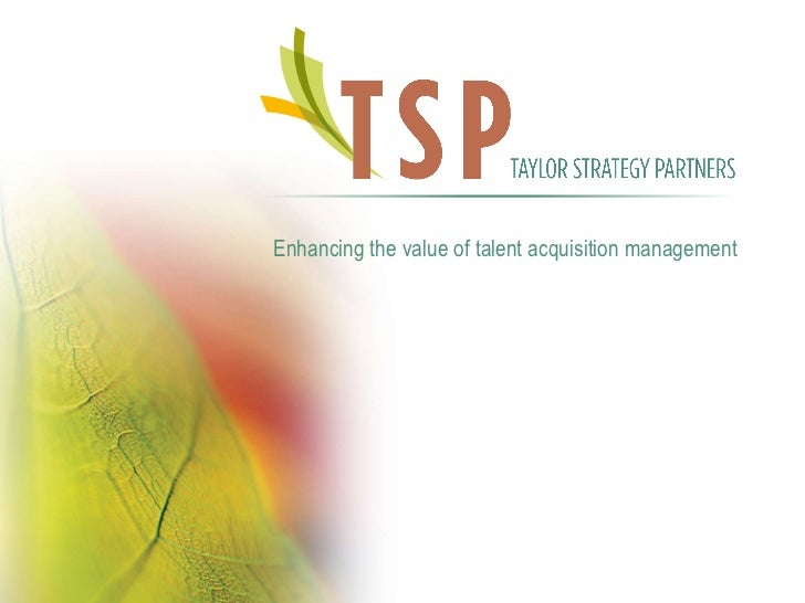 TSP Overview