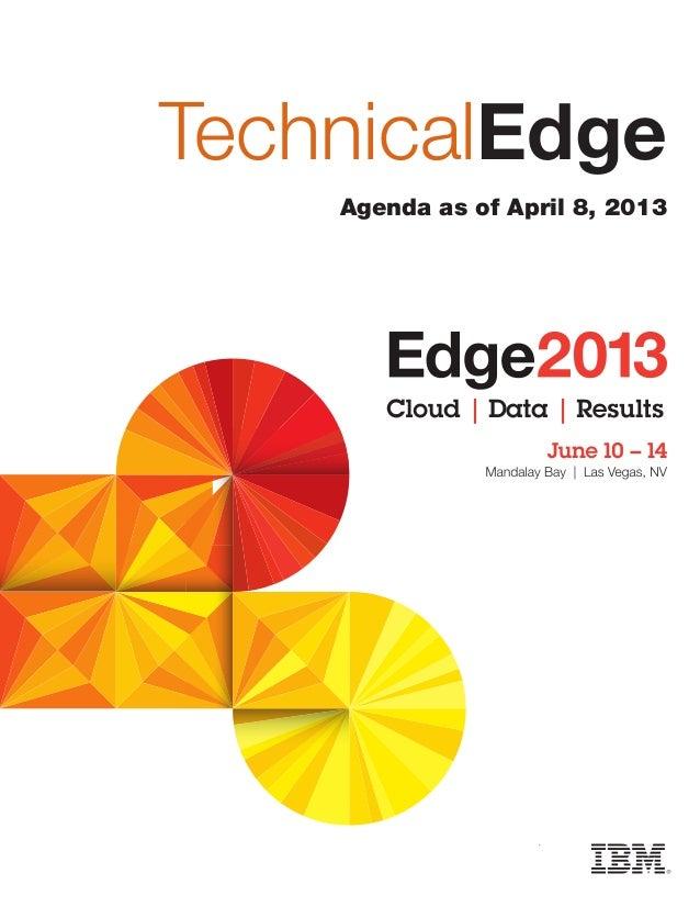Edge 2013