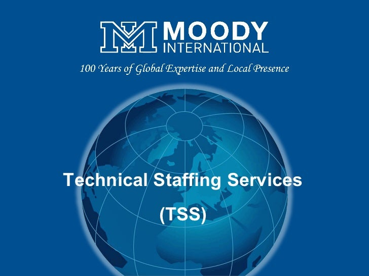 Technical Staffing Services (TSS)