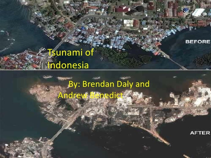 Tsunami of 2004<br />By: Brendan Daly and Andrew Benedict<br />Tsunami of 				                 Indonesia<br />         	By...