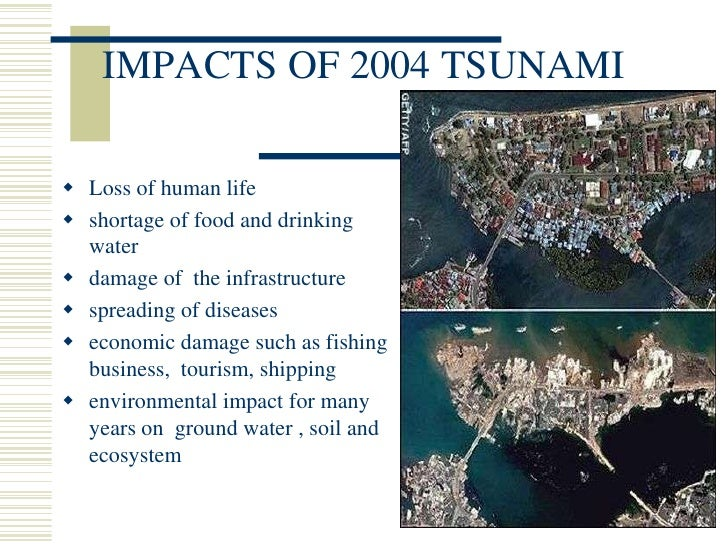 reducing the impacts of a tsunami