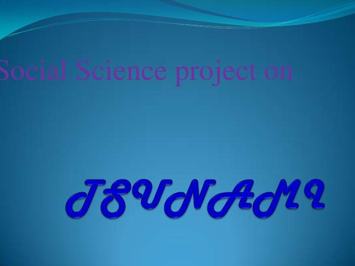 Social Science project on