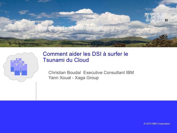 Les DSI face au Tsunami Cloud