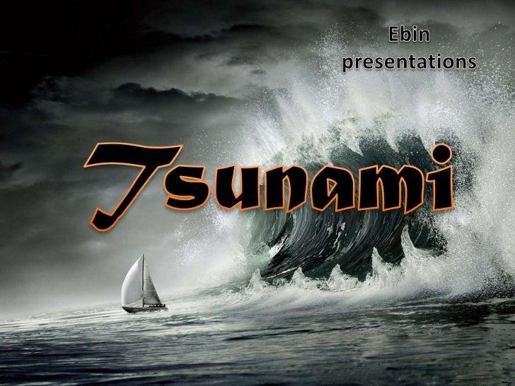 Tsunami a natural disater