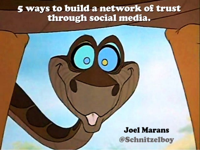 5 Ways to Build a Network of Trust Through Social Media