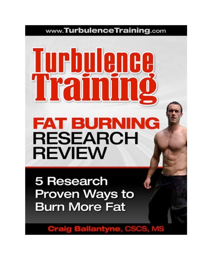 Fat Burning Research Review