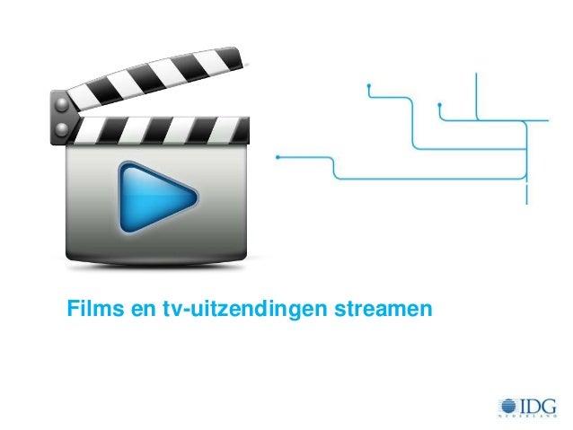 Cursus - Films en tv-uitzendingen streamen