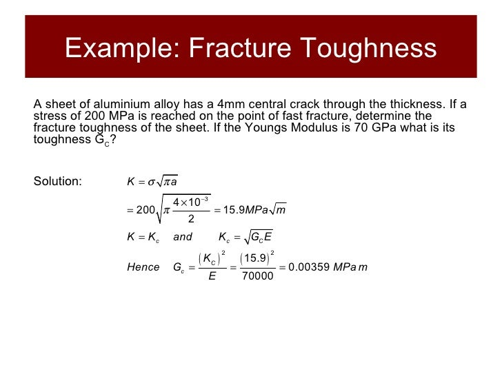 Structures And Materials Section 7 Stress Concentration