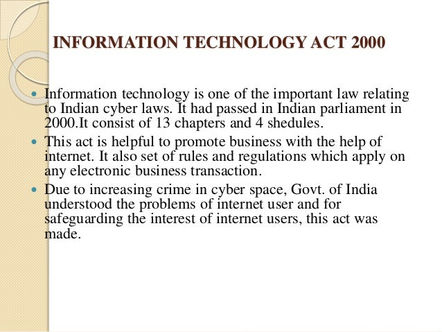 Information Technology Amendment Act 2006