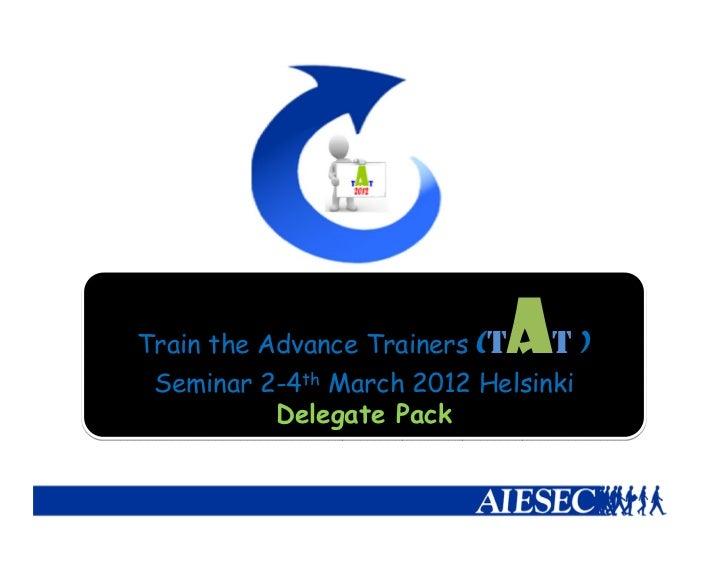 TtAT 2012 delegate_pack