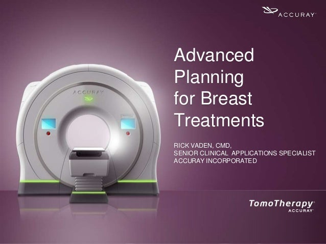 Advanced Planning for Breast Treatments