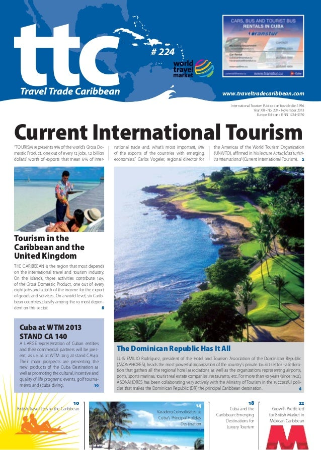 Travel Trade Caribbean - World Travel Market 2013. News