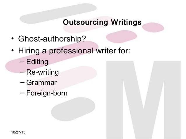 authorship criteria research paper