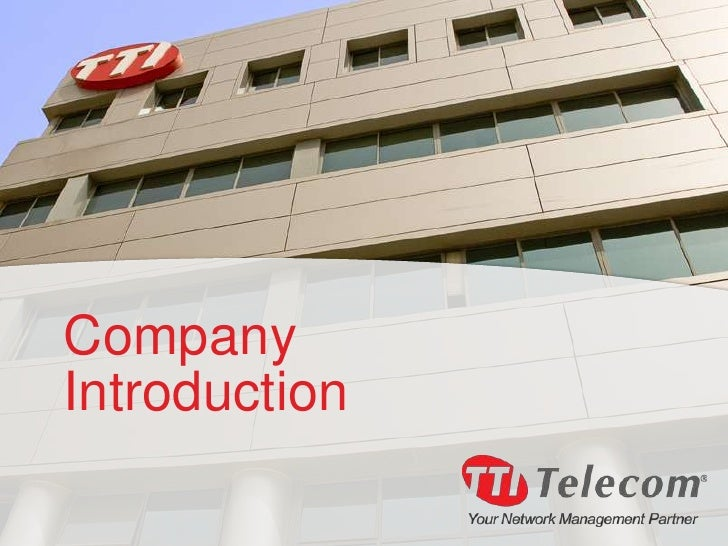Introduction to TTI Telecom
