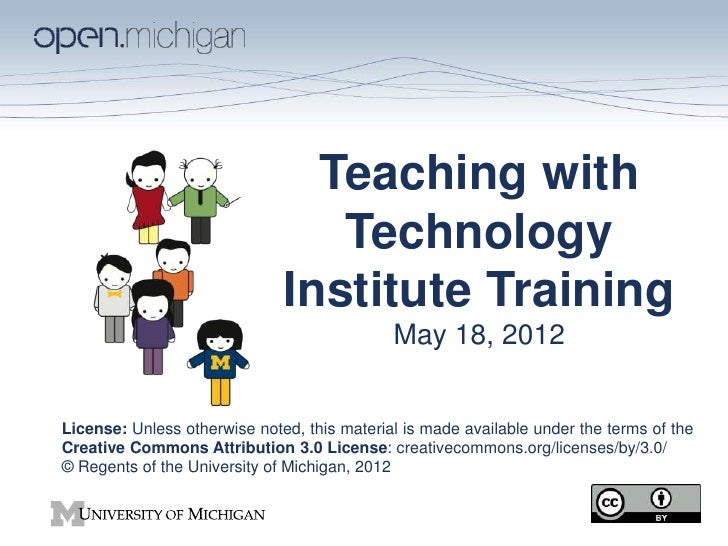 Teaching with Technology Institute Training