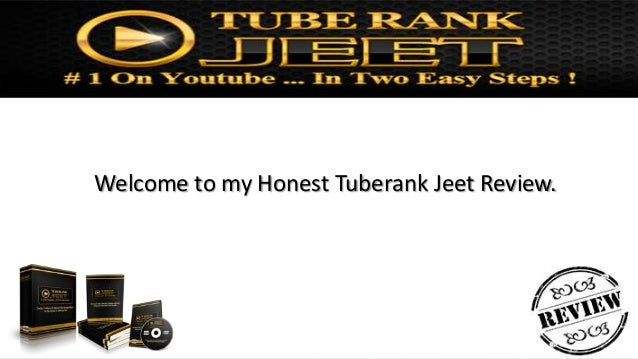 Welcome to my Honest Tuberank Jeet Review.