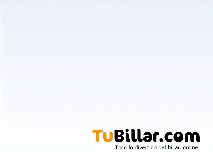 . TuBillar.com   Todo lo divertido del billar, online.