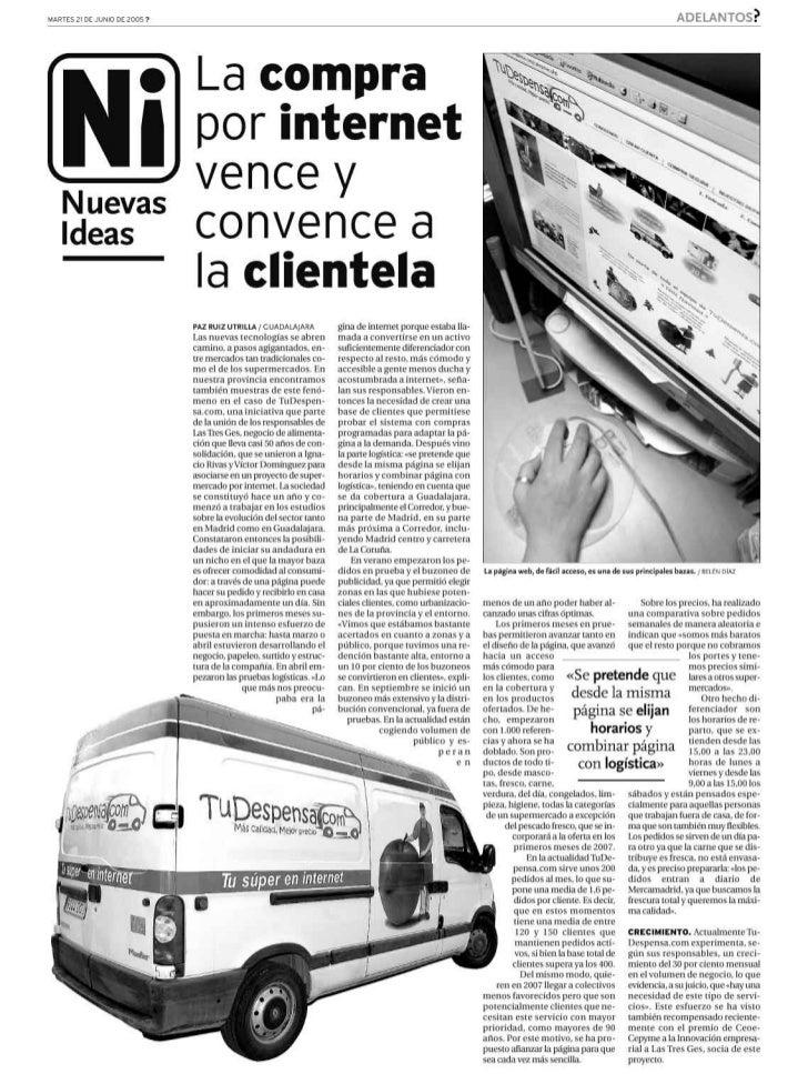 TuDespensa.com en La Tribuna de Guadalajara