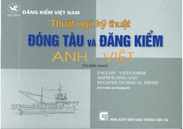 a  -DANG KIEM VIET NAM  Thu5t ngLf ky thuat ,  DONG TAUVA JDANG KJEM -  ANHdiem VIET (TO  tranh)  ENGLISH - VIETNAMESE SHI...